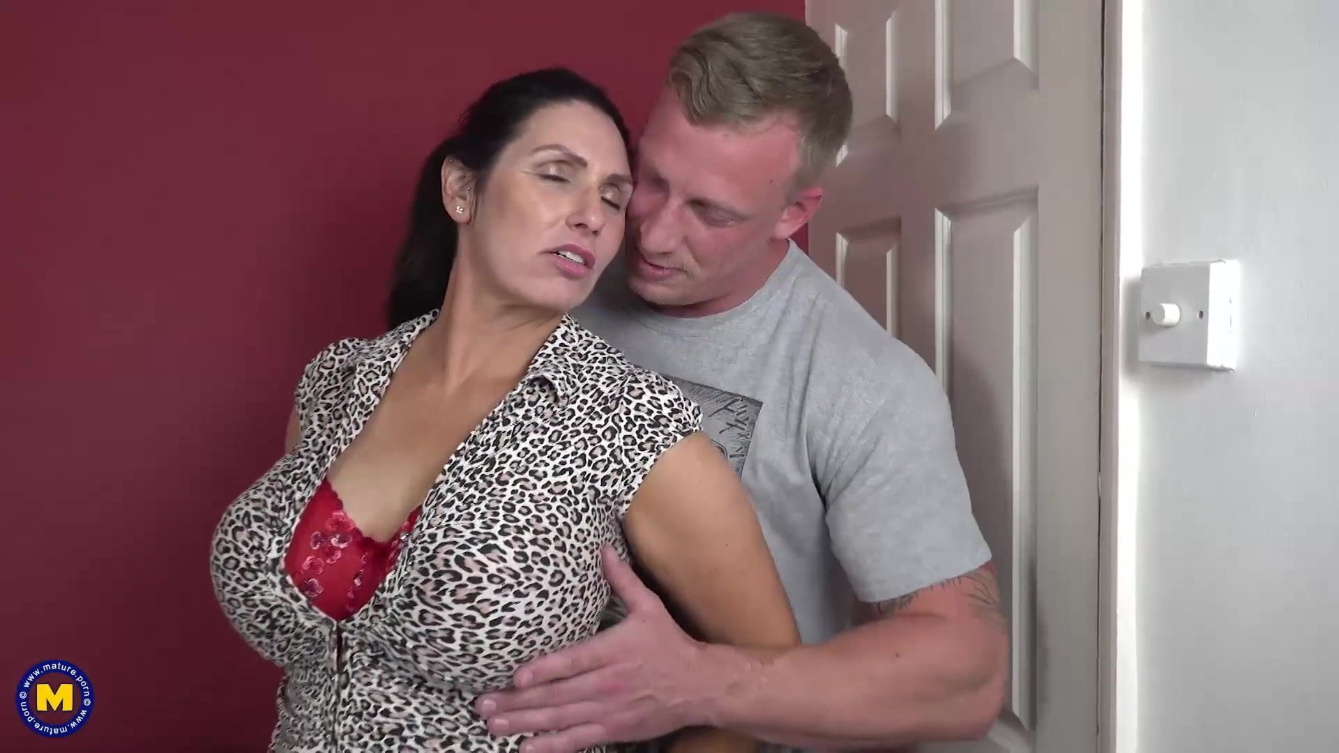 Busty Mom Porn Hd booty busty mom suck and fuck lucky son