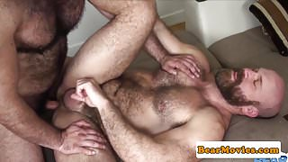 Bareback cub bear assfucked while cocksucking — 10