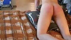 Slave Boy Spanked