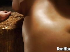 Branding Lesbian Girl Butts One By One