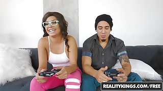 RealityKings - Round and Brown - Gamer Girl