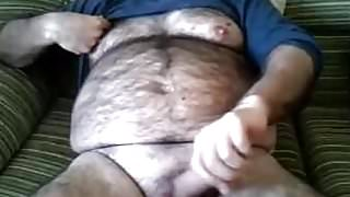 my hairy daddy on cam (no cum)