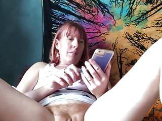 Masturbating while watching myself (tintingirl ) on porn