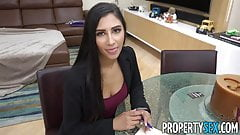 PropertySex - Super hot agent cheats on BF fucks client