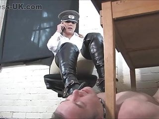 Under Her Desk. Under Her Boot. Full Clip.
