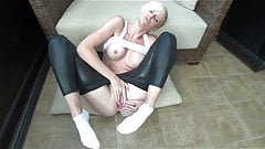 Blondes Leggings Luder - bostero