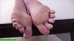 My feet will milk your dick