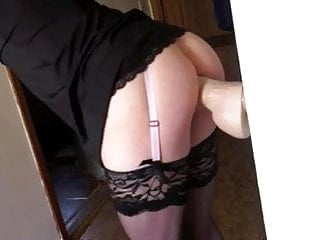 Ass fucked by my big lover again
