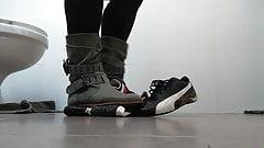 Boots crush Puma drift cat sneakers