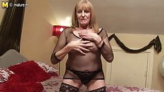 65YO British grandmother still dirty whore