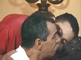 handsome mustache daddy fucked by boy