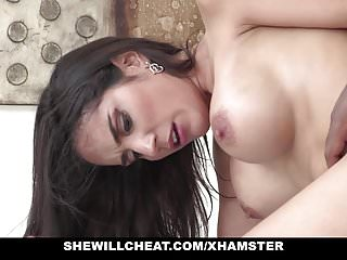SheWillCheat - Tia Cyrus Ride Black Cock While Husband Is At