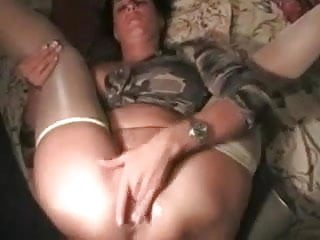 I lick my wife's pussy and asshole before we have anal sex