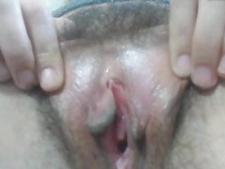 Look at my hairy pussy