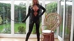 milf in catsuit