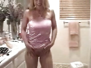 Ann Marie Dancing striping showing pussy