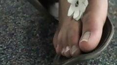 Foot Fetish Asian Glasses Toes FF24