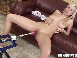 Britney Beth Having Fun With A Fucking Machine