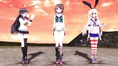 MMD NEE without panties