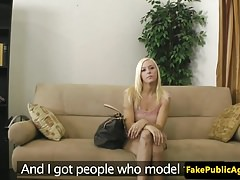 Casting model cocksucks midget agent POV