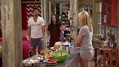 Beth Behrs, Kat Dennings - 2 Broke Girls S2E10
