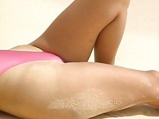 High Leg One-piece Thong Swimsuit- Sexy Japanese Ass