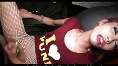 Skinny Ladyboy Many bareback Attack