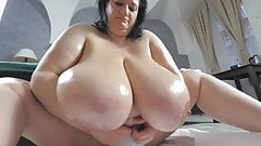 Mega boobs