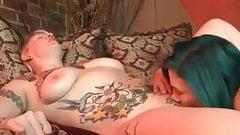 Bull Dyke lesbické pornojapanise análny sex