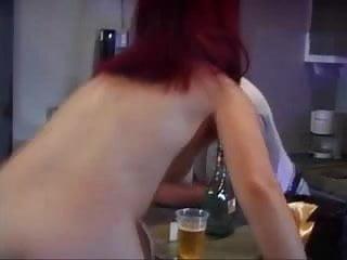 Midget chicks nude - Dwarf chick twigget fucked on the bar