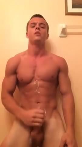 gay muscle porn clip: Fitness guy johnny cumshot 1, on hotmusclefucker.com