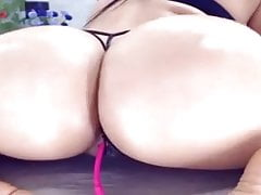 great PAWG on cam