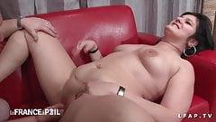 BBW femme fontaine baisee fistee godee par son mec