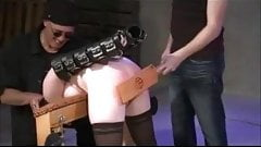 Ass Spanked Red Then Fucked
