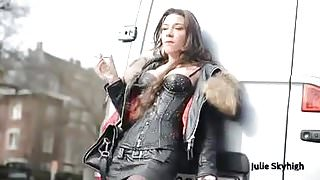 Julie Skyhigh smoking 1 (JS)