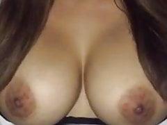 Arabic Girl funny Tit play