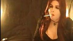 TS Real Sexy Smoking Fetish