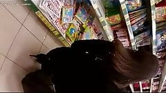 Flash cum in supermarket 12