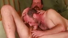 Mature gay guys give each other head