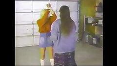 Woman doms teen