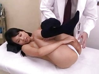 Japanese Schoolgirl  Medical Exam