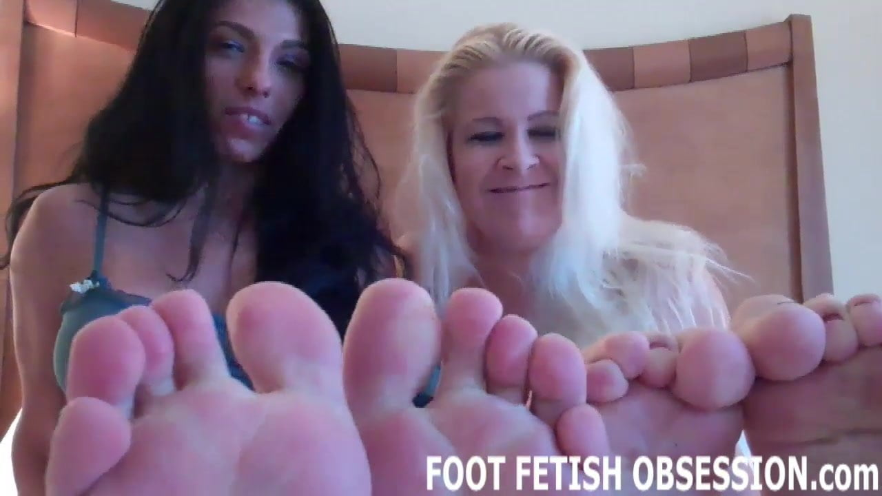 Shoot a hot load all over my cute little feet