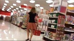 Upskirt at Target