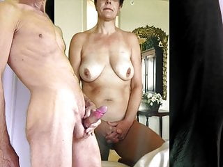 big boob wife gets my cum
