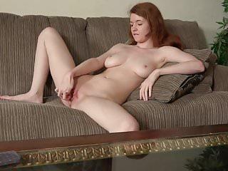 Cute Redhead Abbey Rain Masturbating