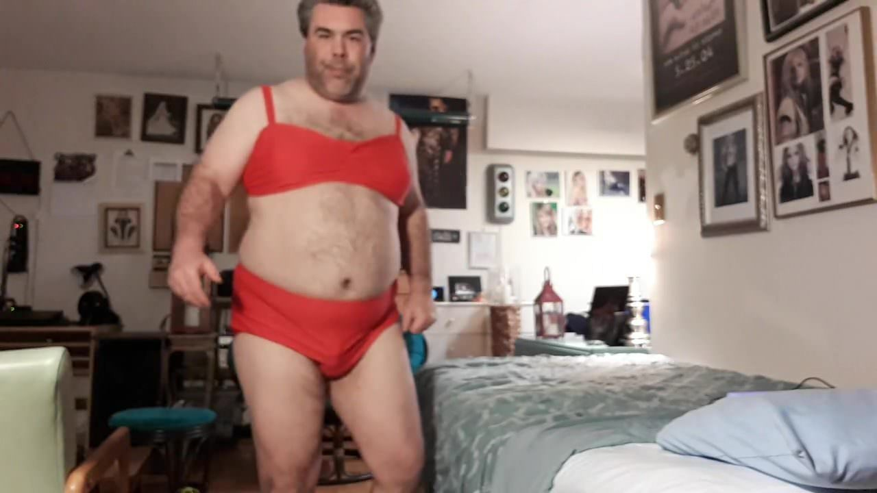 New red bikini
