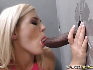 Summer Day Tries BBC Anal - Gloryhole