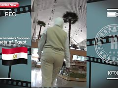 Nice booty Egyptian Girl Jiggly In The Market (2018)