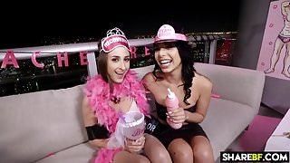 Bachelorette Party Threesome