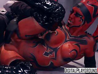 Digitalplayground Star Wars One Sith Xxx Parody Kleio Va